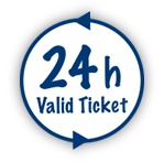 24 h Valid Ticket